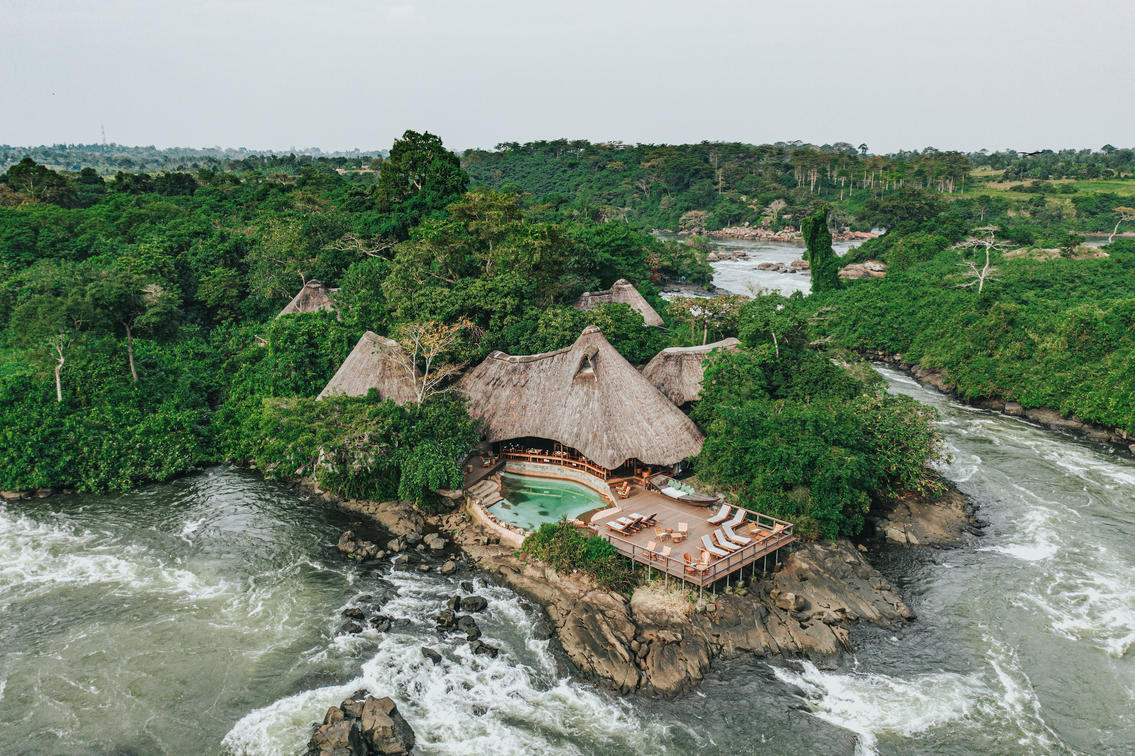 Luxury African Vacations in Uganda, Nile River with Anywhere in Africa Safaris
